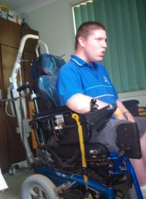 Weird sex remote controlled wheel chair